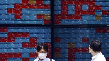 الأسهم اليابانية ؛ بورصة طوكيو