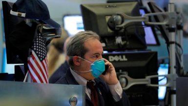 الأسهم الأمريكية ؛ وول ستريت ؛ فيروس كورونا