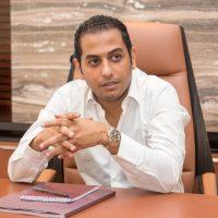أحمد أسامة رئيس القطاع التجاري بشركة التعمير العربية للتنمية والاستثمار العقاري