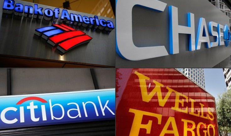 البنوك الأمريكية