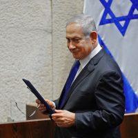 بنيامين نتنياهو رئيس الوزراء الإسرائيلي فى الكنيست ؛ إسرائيل