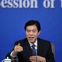 تشونغ شان وزير التجارة الصيني