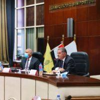 هشام توفيق وزير قطاع الأعمال و وزير النقل كامل الوزير