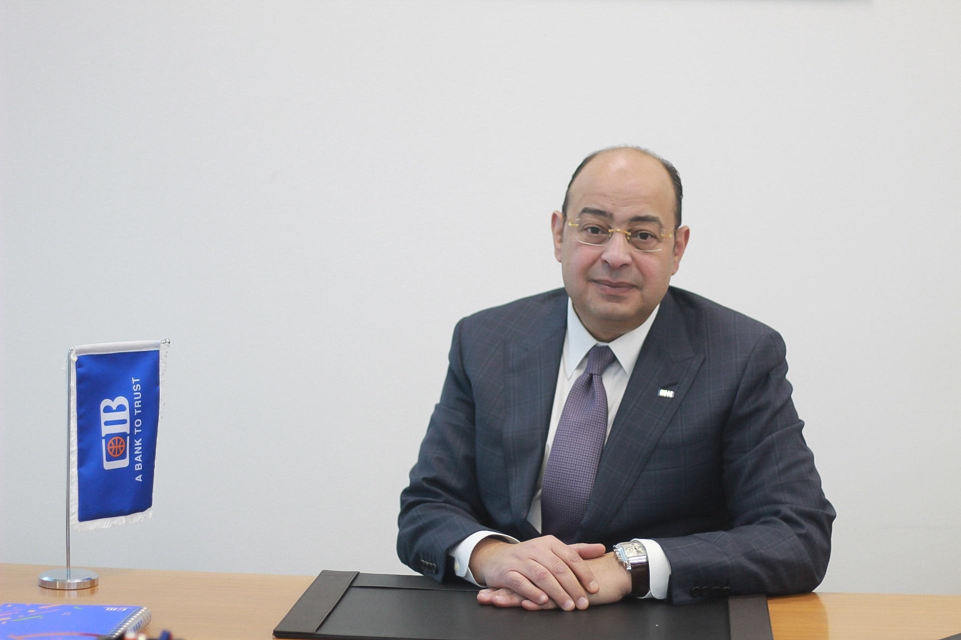 محمد فرج نائب الرئيس التنفيذي لقطاع العمليات فى البنك التجارى الدولى