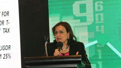 هبة عبد اللطيف، رئيس قطاع القروض المشتركة وأسواق الدين بالبنك التجارى الدولي