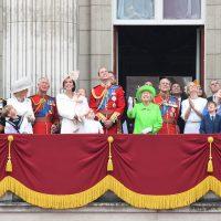 العائلة الملكية فى بريطانيا
