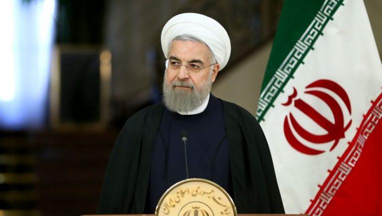 الرئيس الإيراني حسن روحانى