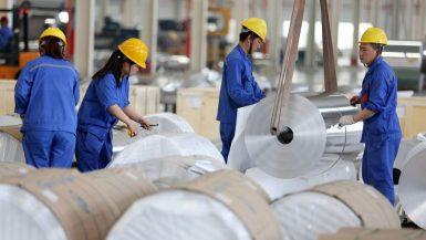 إنتاج الألومنيوم فى الصين