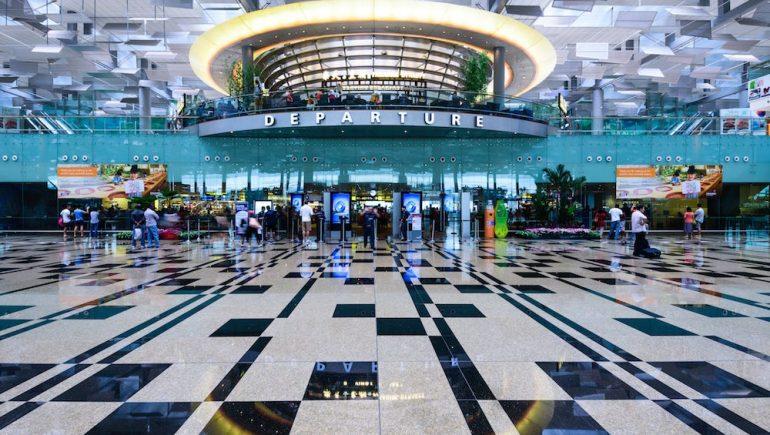 مطار شانجى في سنغافورة