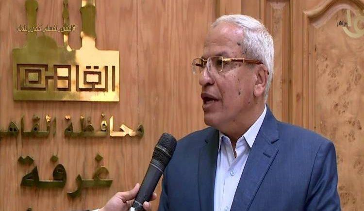 اللواء إبراهيم عوض المتحدث باسم محافظة القاهرة