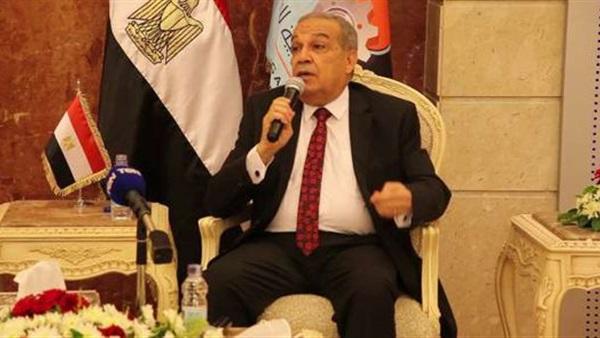 محمد أحمد مرسي وزير الدولة للإنتاج الحربي