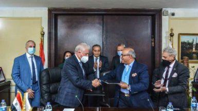 """""""التموين"""" تتفق مع """"جنوب سيناء"""" لإنشاء منطقة لوجستية تجارية فى """"الطور"""""""