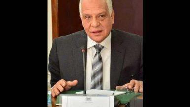 احمد راشد محافظ الجيزة