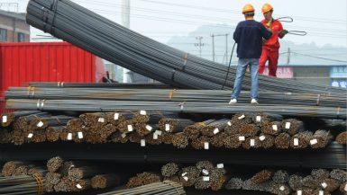 استهلاك الصين من الصلب