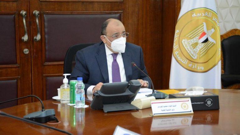 محمود شعراوى وزير التنمية المحلية