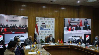 «النصر للسيارات» توقع اتفاقية إطارية مع «دونج فينج» لإنتاج السيارة الكهربائية فى مصر
