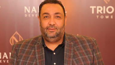 عماد الطباخ رئيس مجلس إدارة شركة النخيل للتطوير العقارى