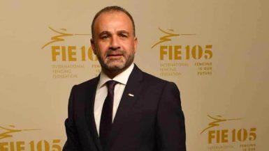 عبد المنعم الحسينى رئيس الاتحاد المصرى للسلاح
