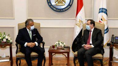 """""""البترول"""" تبحث مع """"بى بى"""" خطط التوسع فى لسوق المصرى"""