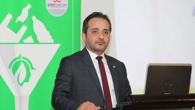 محمد ضيف رئيس شركة جرين مايندس المتخصصة في الحلول البيئية وتدوير البلاستيك