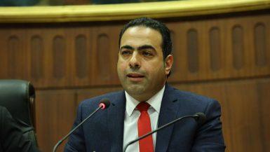 محمود حسين رئيس لجنة الشباب والرياضة بمجلس النواب