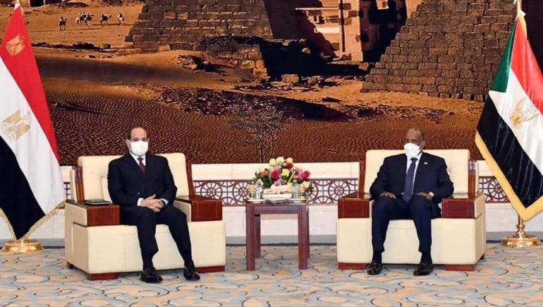 مصر والسودان تشددان على رفض أى إجراءات أحادية تهدف لفرض الأمر الواقع والاستئثار بموارد النيل الأزرق