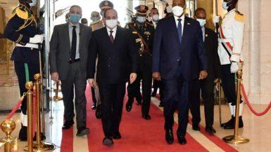 السيسى: نتطلع لتعميق العلاقات مع السودان على المستويات الأمنية والعسكرية والاقتصادية