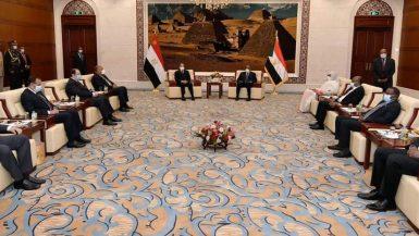 السيسى: التأكيد على حتمية العودة لمفاوضات جادة للتوصل إلى اتفاق عادل بشأن سد النهضة
