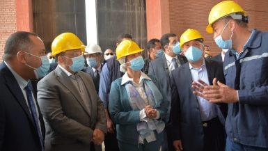 الحكومة تدشن أكبر خلية دفن للمخلفات الخطرة فى مصر
