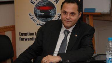 مدحت القاضى رئيس مجلس إدارة شعبة خدمات النقل الدولي