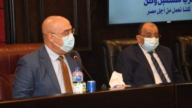 """الحكومة تعرض الاشتراطات البنائية الجديدة على أعضاء مجلسى """"النواب"""" و""""الشيوخ"""""""
