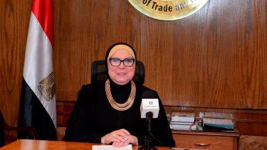 نيفين جامع وزيرة التجارة والصناعة
