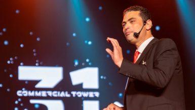 محمد طاهر رئيس مجلس إدارة شركة النيل للتطوير العقارى