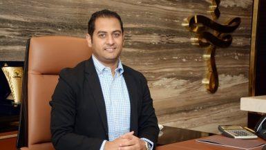 أحمد أسامة رئيس القطاع التجارى لشركة التعمير العربية