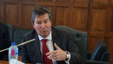 فرانسوا كورنيه الزيوس، السفير البلجيكي
