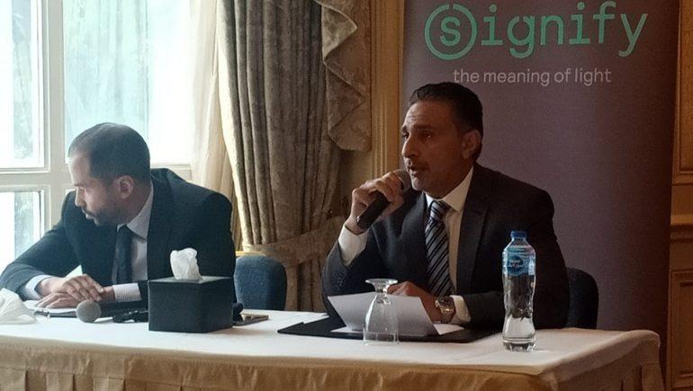 """""""سيجنفاى مصر"""" تتفاوض مع الحكومة للمشاركة فى إضاءة المشروعات القومية"""