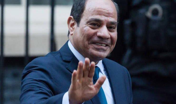 """الرئيس السيسى يتفقد موسم الحصاد الزراعى بمشروع """"مستقبل مصر"""""""