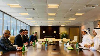 رئيس هيئة الاستثمار يعقد اجتماعات لجذب المزيد من الاستثمارات البحرينية