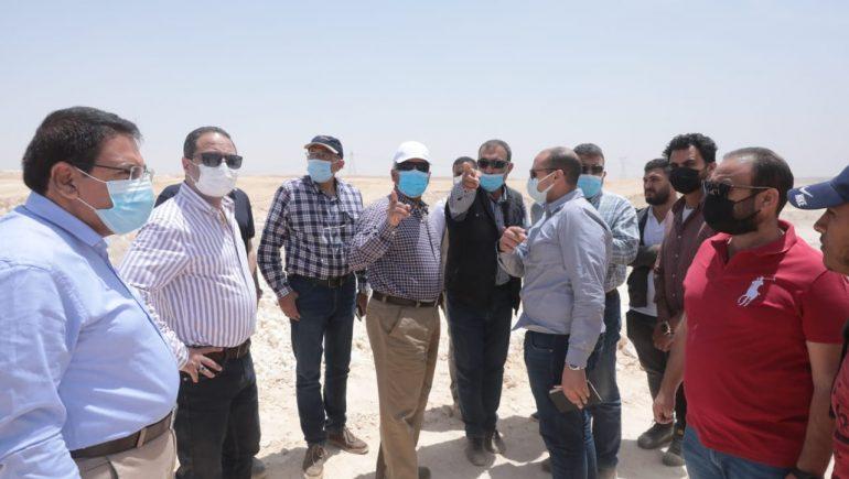 وزير النقل يتابع أعمال تنفيذ القطار الكهربائى السريع العين السخنة / مرسى مطروح