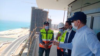 السفير الألمانى بالقاهرة يتفقد مشروعات مدينة العلمين الجديدة