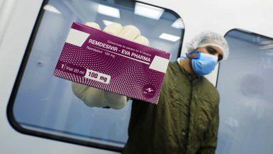 """""""إيفا فارما"""" تورد 300 ألف جرعة من دواء رمديسيفير لمرضى كورونا للهند"""