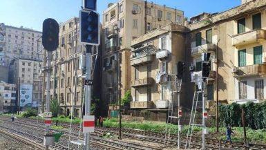 """""""تاليس"""" تنهى 78% من تطوير إشارات السكة الحديد على خط القاهرة - الإسكندرية بتكلفة 132 مليون يورو"""