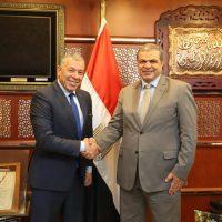 وزير القوى العاملة يبحث أوضاع العمال المصريين فى فرنسا