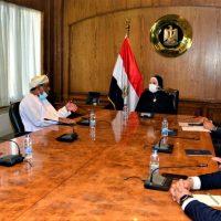 وزيرة التجارة: 500 مليون دولار حجم التبادل التجارى بين مصر وعمان