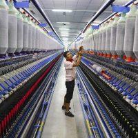 صناعة الألياف الكيماوية فى الصين