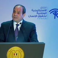 """السيسى يشهد إطلاق """"الاستراتيجية الوطنية لحقوق الإنسان"""""""