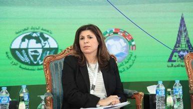 ندي العجيزى مدير إدارة التنمية المستدامة والتعاون الدولى فى جامعة الدول العربية
