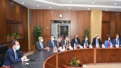 """وزير البترول يتابع إجراءات تنظيم مؤتمر ومعرض """"إيجبس 2022"""""""