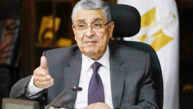 محمد شاكر وزير الكهرباء والطاقة الجديدة والمتجددة