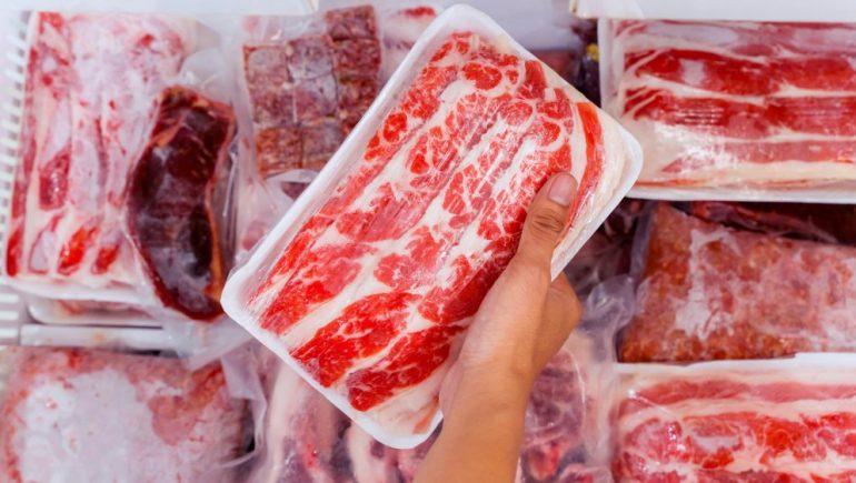 واردات اللحوم المجمدة ؛ اللحوم ؛ اللحوم المجمدة